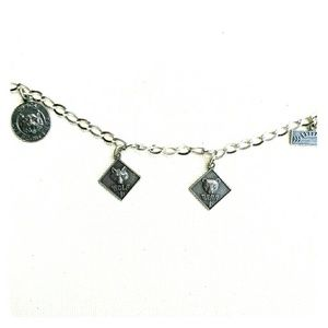 Vintage Den Mother Charm Bracelet